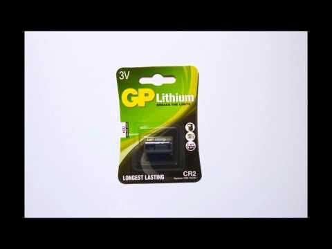 GP CR2 Lithium batterij
