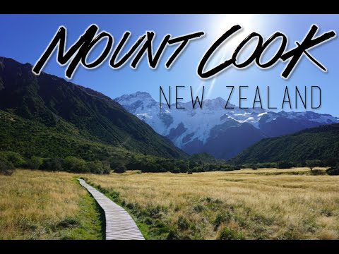 Aimless Wandering in Aoraki / Mount Cook National Park, New Zealand | Kimmyonaquest Vacation VLOG