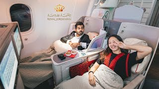 Royal Jordanian - Crown Class Review !! $22,000