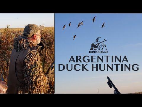 Argentina Duck Hunting (INSANE!) | صيد البط في الأرجنتين