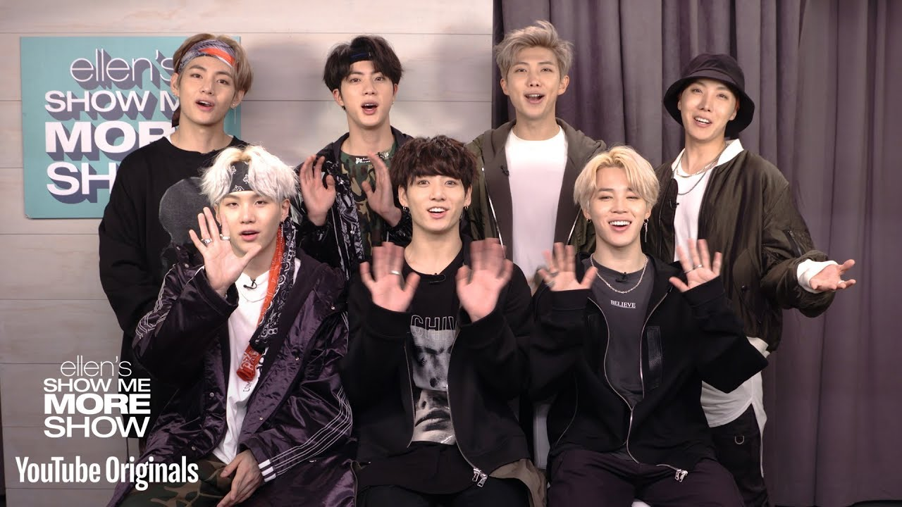 BTS 'Ellen' Interview: K-pop Group Reveals Post Malone as Dream