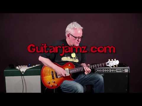 Awesome Slow Blues Descending Guitar Licks (Minor Key)