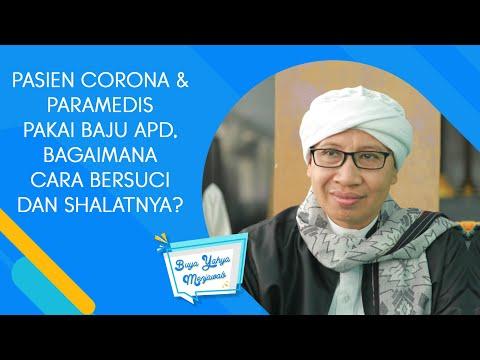 Pasien Corona & Paramedis Pakai Baju APD, Bagaimana Cara Bersuci dan Shalatnya? Buya Yahya Menjawab