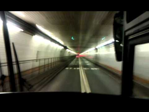 holland tunnel - tunnel vision on charter bus