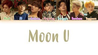 GOT7 - MOON U LYRICS [COLOR CODED HAN|ROM|ENG] MP3