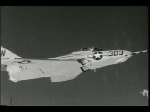 VT 847 F9F 'Cougars' Air To Air Refueling Convair R3Y Tradewind, Pogo and Sea Dart
