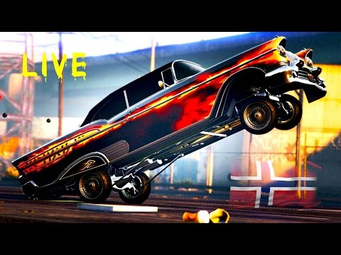 LIVE EPIC CUSTOM RACES ! GTA V LIVE STREAM #GAMING FROM NORWAY ;)