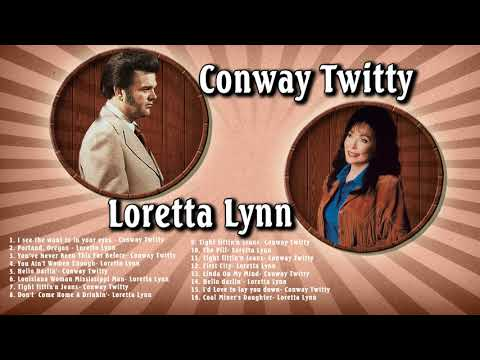 Conway Twitty And Loretta Lynn Greatest Hits (Full Album) - Conway Twitty, Loretta Lynn Best Songs
