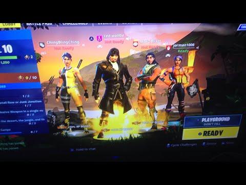 Playing squads seasn 8