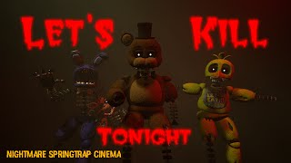 [SFM-FNAF] Let's kill tonight - Panic! At The Disco