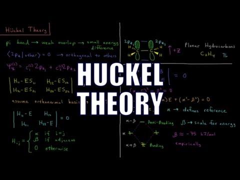 Quantum Chemistry 11.6 - Huckel Theory