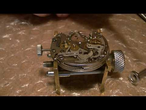 Landeron 248 Chronograph Service - Part 2
