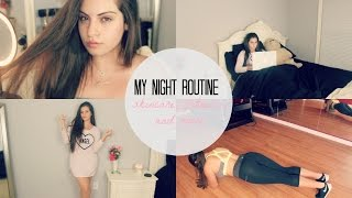 MY NIGHT ROUTINE♡| Nazanin Kavari