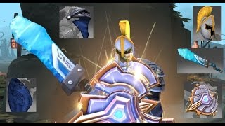 Dota 2 Sven Mix Set Commander's/Radiant Claive/Immortal Vigil Signet/Kinetic Gem Free to Fear