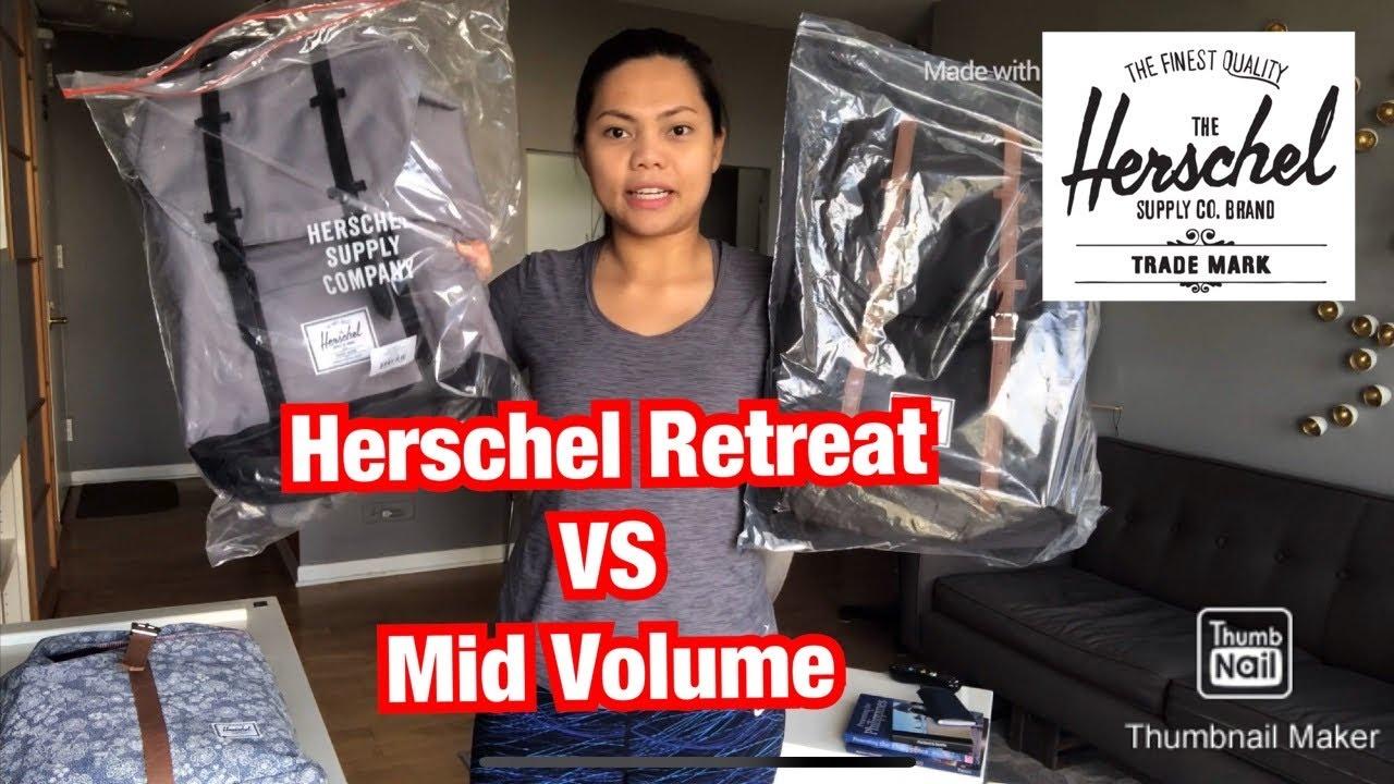 Herschel Retreat VS Mid Volume Size