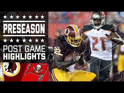 Redskins vs. Buccaneers   Game Highlights   NFL