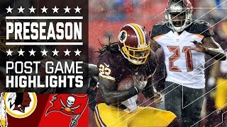 Redskins vs. Buccaneers | Game Highlights | NFL