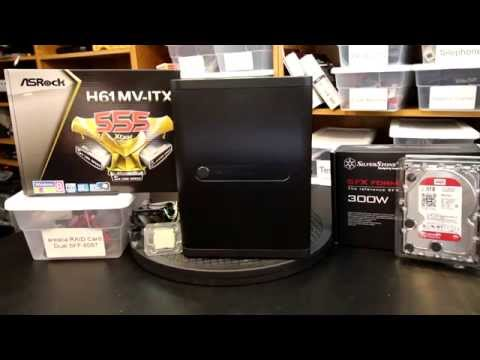 NAS build with the SilverStone DS380