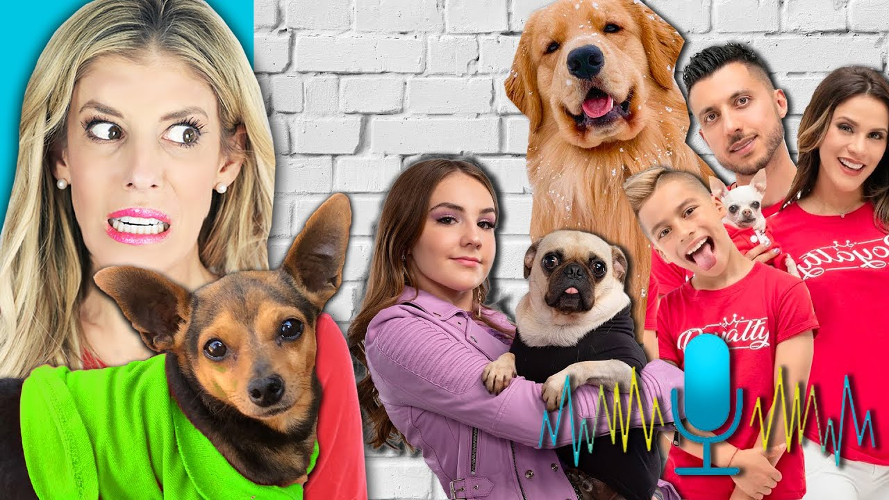 Guessing Youtubers Pets Only Using Their Voice - PawZam Dogs