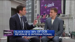 Watch CNBC's full interview with Slack CEO Stewart Butterfield ahead of direct listing
