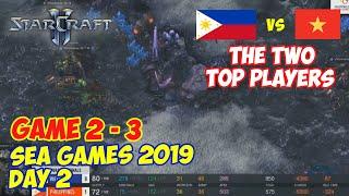 BO5 GAME 2 - 3 | SEA GAMES 2019 DAY 2 | STARCRAFT 2 | PH vs VIE
