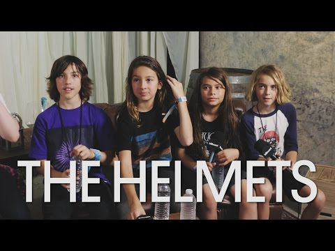 The Helmets | On Loving Metallica and Hating Pop Music | BottleRock Napa Valley 2016