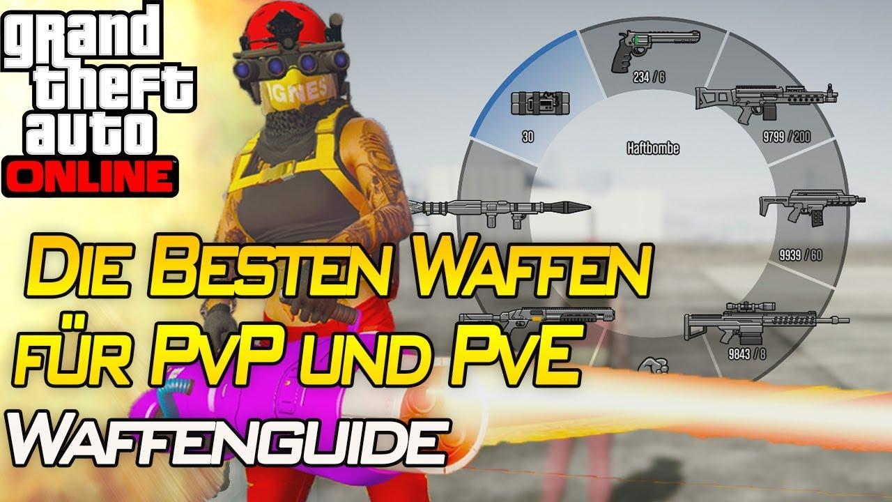 Die Besten Waffen für PvP und PvE ! | Waffenguide | Gta 5 Online | IRabbix