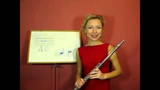 Урок 10, флейта  Нота до