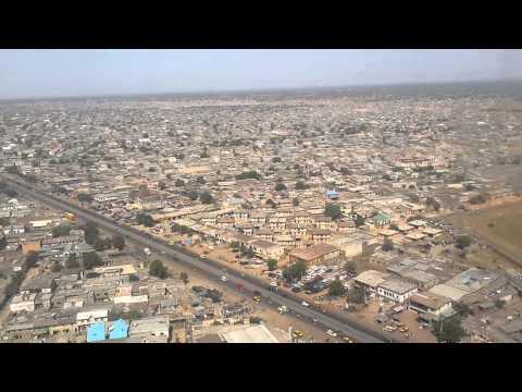 LANDING AT MALLAM AMINU INTERNATIONAL AIRPORT, KANO, NIGERIA