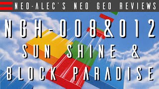 NGH-008: Sun Shine / Block Paradise - Unreleased Neo Geo Game