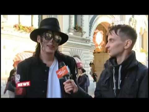 Двойник Майкла Джексона Павел Талалаев интервью для телеканала