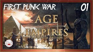 Age of Empires Definitive Edition First Punic War C aign 1 Battle of Agrigentum