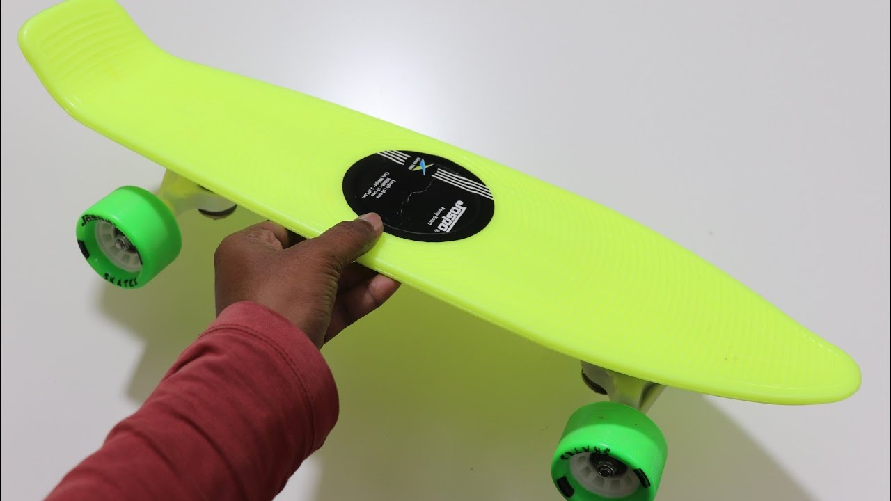 Best Skateboard Unboxing & Review – Pennyboard – Chatpat toy tv