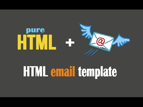 How To Design HTML Email Template || Send Via Gmail || Newsletter || Invitation