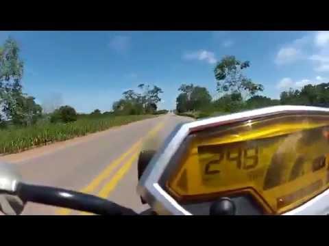 Kawasaki Z1000 Top Speed 2014 GoPro ! - YouTube