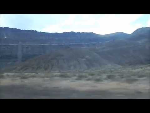 Driving on US Route 95 Nevada to Winnemucca