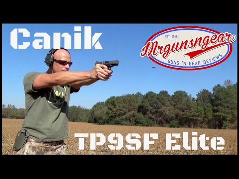 Canik TP9SF Elite Compact 9mm Pistol Review (HD) - YouTube
