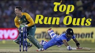 Top 10 RUN OUTS in Cricket History ● Updated 2016 ● Best Run Outs