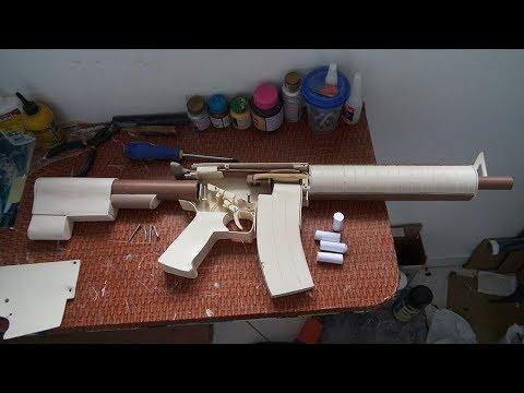 M4A4 Funcional de Pvc (completo)