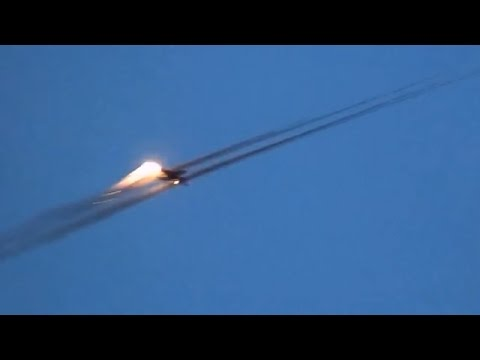 Ukraine War - Ukrainian air force operates at Donetsk airport seized by Russian armed forces