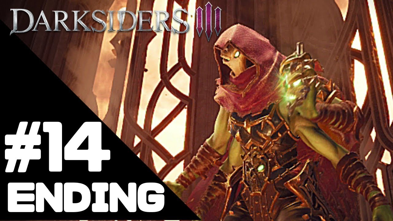 Darksiders 3 Walkthrough Gameplay/Ending – PS4 PRO 1080p Full HD – No Commentary