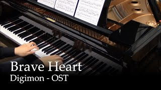 Brave Heart - Digimon Digitation Song [piano]