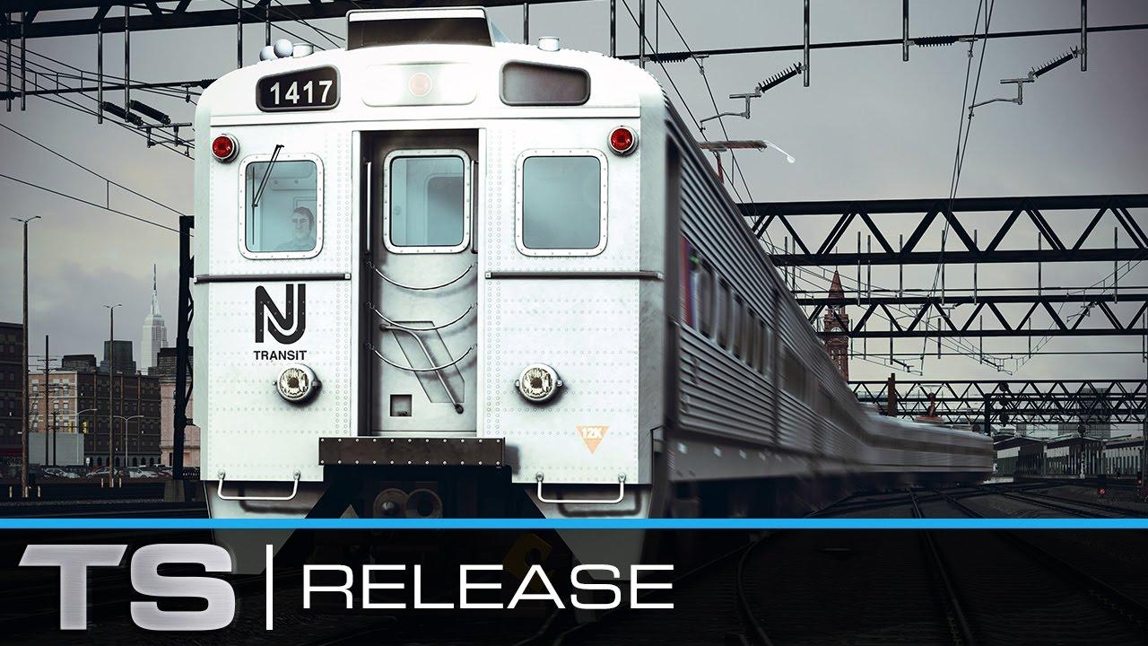 Train Simulator Nj Transit 174 Arrow Iii Emu Add On Youtube
