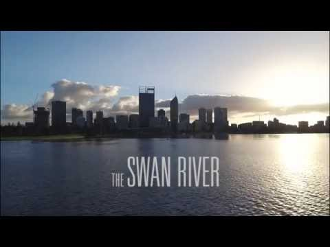 Swan River by Drone