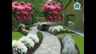 video presentazione 3d garden design