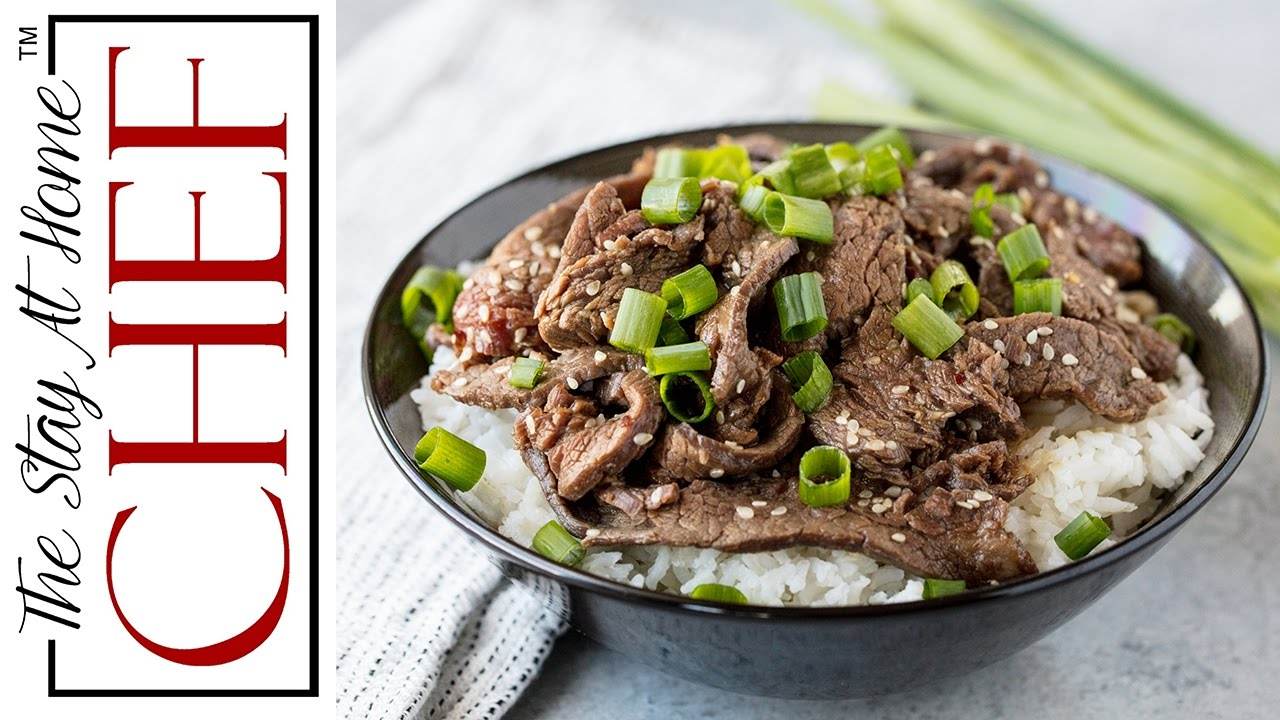 How To Make Korean Beef Bulgogi Youtube