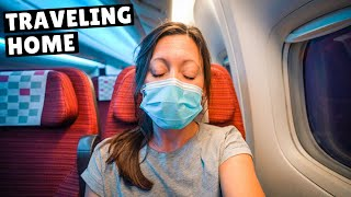 FLYING DURING THE PANDEMIC (Singapore to USA)