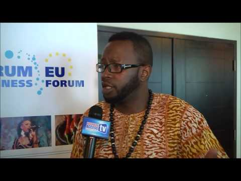 Buddha Blaze at the 3rd CARIFORUM EU Business Forum