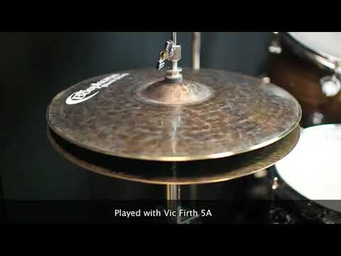 "Bosphorus 14"" Black Pearl Series Hi Hats"