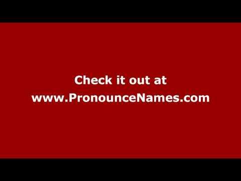 How to pronounce Kenneth Macdonald (American English/US)  - PronounceNames.com
